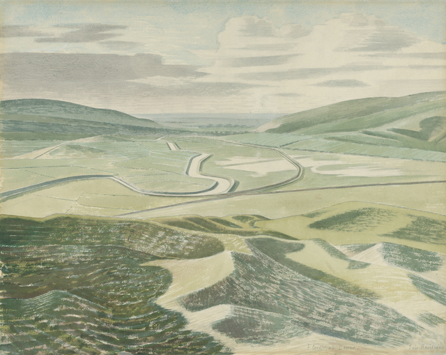 Eric Ravilious, 'Floods at Lewes ', 1935, Liss Llewellyn