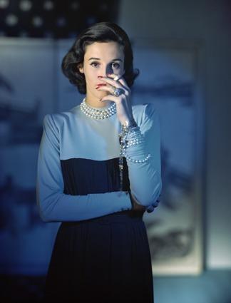 ", 'Barbera ""Babe"" Cushing Mortimer Paley, Dress by Traina-Norell,' 1946, Bernheimer Fine Art"