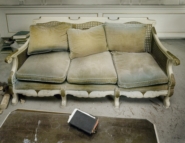 , 'Couch in the French room, with bible,' 2008, The Ravestijn Gallery