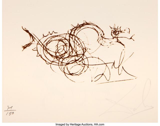 Salvador Dalí, 'Symbols Portfolio', 1970, Print, Etching on Rives BFK paper, with full margins, Heritage Auctions