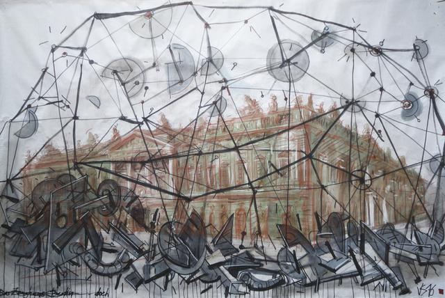 ", '""Museum Island 4"",' 2016-2017, Krokin Gallery"