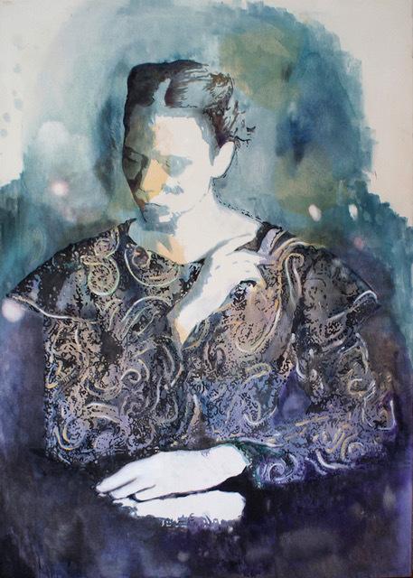 Miriam Vlaming, 'Silent movie ', 2017, Painting, Egg tempera on canvas, GALERIE VON&VON