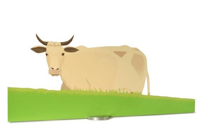 Alex Katz, 'Cow', 2004, Gregg Shienbaum Fine Art