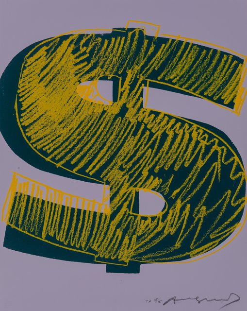 Andy Warhol, '-$1', 1982, Heritage Auctions