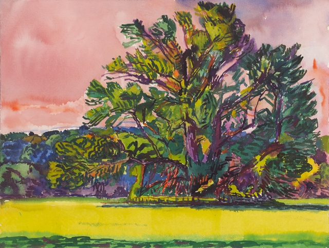 , 'Monumental tree - Serena's Tree: Pink Sky,' 2000, New York Studio School