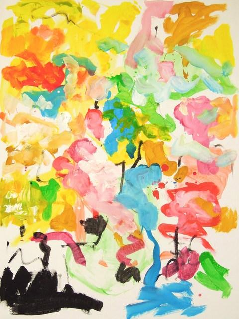 , 'Echappées 7351,' 2018, Galerie Marie-Robin