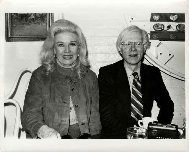 Andy Warhol, 'Andy Warhol, Photograph with Ginger Rogers circa 1980', ca. 1980, Hedges Projects