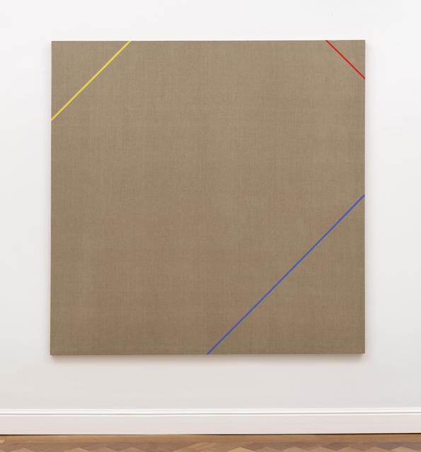 Winfred Gaul, 'Markierungen XVII', 1973, Painting, Polyvinyl acetate on canvas, Ludorff
