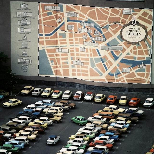 , 'Parkplatz Mühlendamm Ecke Breite Straße,' 1987, CAMERA WORK
