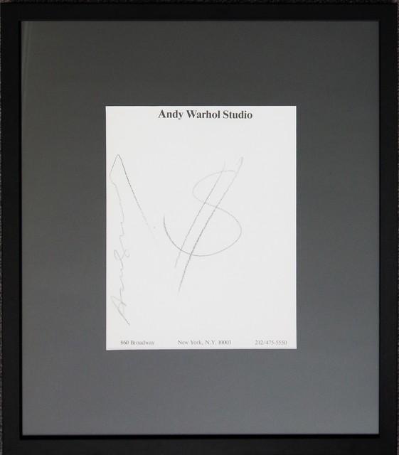 Andy Warhol, 'Dollar', Unknown, Belgravia Gallery