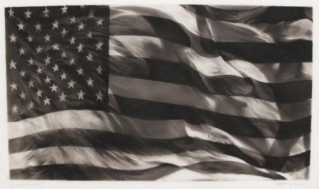 , 'Study of American Flag X-13,' 2012, David Benrimon Fine Art