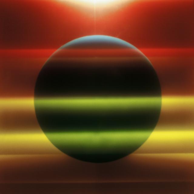 , 'Meteora Trasparente (doppio arcobaleno) [Transparent Meteor (Double rainbow)],' 1970-1972, Richard Saltoun