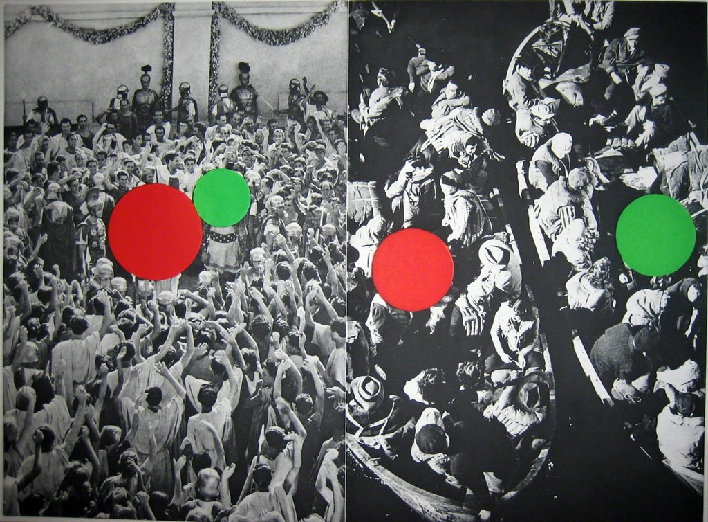 John Baldessari, 'Hegel's Cellar: Two Boats,' 1986, Diane Villani Editions