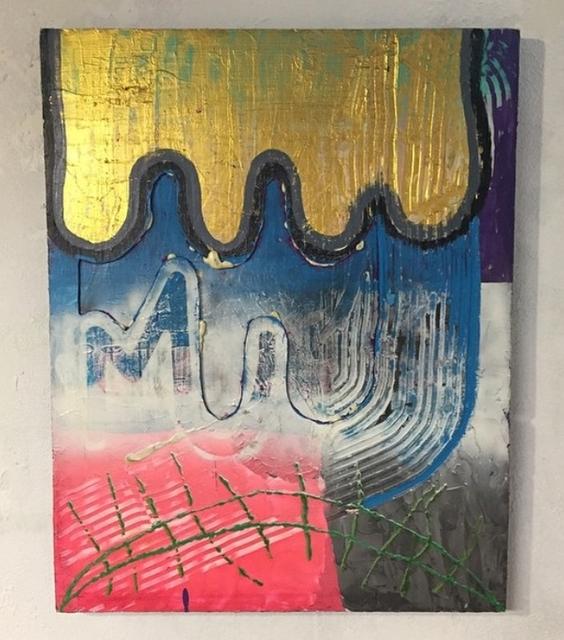 , 'Glowgold,' 2014-2015, Ro2 Art