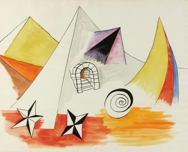 Alexander Calder, 'Paysage Fantastique,' ca. 1942, Opera Gallery