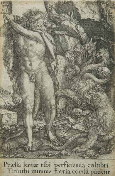 , 'Hercules fighting with the Hydra of Lernea, from The Deeds of Hercules,' 1550, Childs Gallery