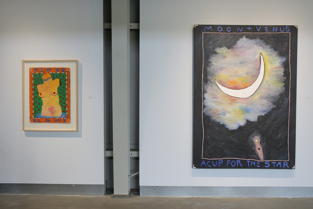 Squeak Carnwath: The Unmediated Self, installation view, di Rosa collection, Napa. Photo: Wilfred J. Jones