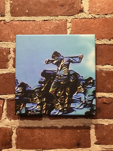 , 'Blue James Dean,' 2018, Mason-Nordgauer Fine Arts Gallery