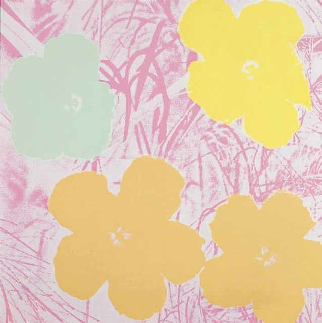 Andy Warhol, 'Flowers II.70', 1970, Print, Screenprint on Paper, Hamilton-Selway Fine Art