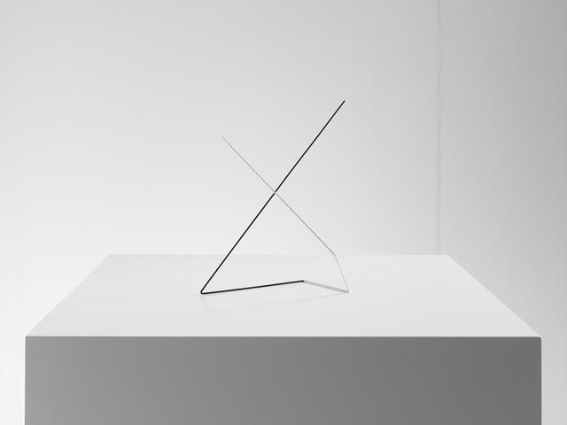 , 'Raumplastik Schwarz-Weiss,' 1975, Dierking
