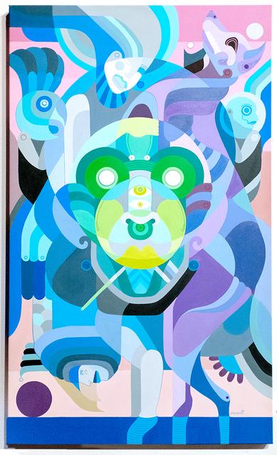 Fernando Chamarelli, 'Tribo Dropas (Dropas Tribe)', 2017, Painting, Acrylic on canvas, ANNO DOMINI