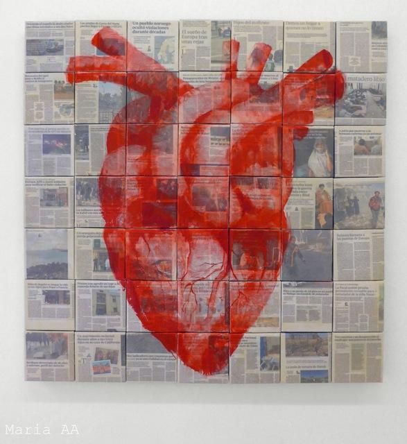 , 'La era pariendo un corazón,' 2018, Galería Weber-Lutgen