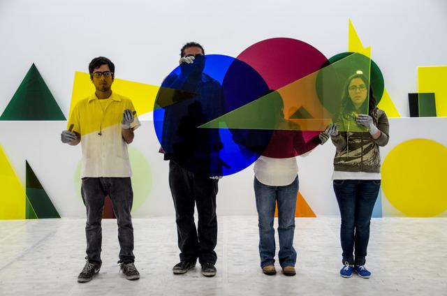 , 'A ∩ B ∩ C,' 2013, Guggenheim Museum