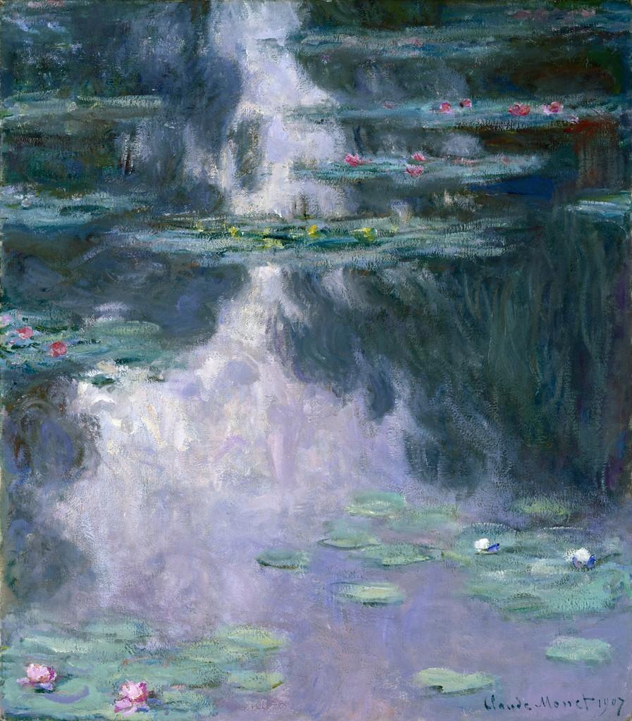 Claude Monet Water Lilies Nymphéas 1907