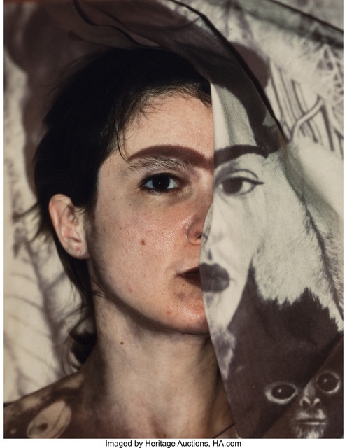 Anne Rowland, 'Untitled (Frida Kahlo) from the series Faces (and Bodies)', 1988, Heritage Auctions