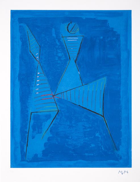 Marino Marini, 'Marino From Goethe Plate 1 ', 1979, Odon Wagner Gallery