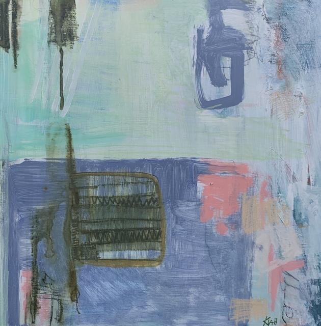 Kiah Bellows, 'Neighborhood Alleys', 2020, Painting, Mixed media on panel, Miller Gallery Charleston