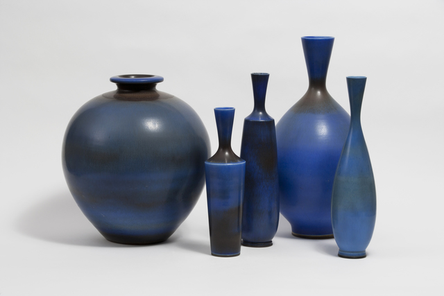 , 'Collection of Vases,' 1940-1960, Hostler Burrows