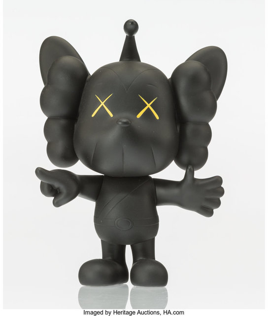 KAWS, 'JPP (Black)', 2008, Heritage Auctions