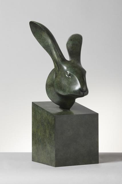 , 'Hare's Head,' 2004, Galerie Dumonteil
