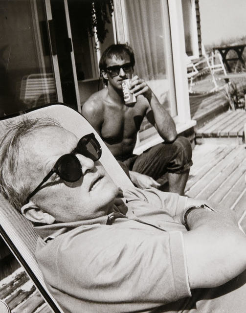 , 'Andy Warhol, Truman Capote and Jon Gould in Montauk,' , Hedges Projects