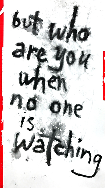 Daniel Scharfman, 'but who are you', 2019, MvVO ART