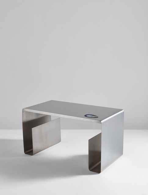 Maria Pergay, 'Pliée low table', circa 1968, Phillips