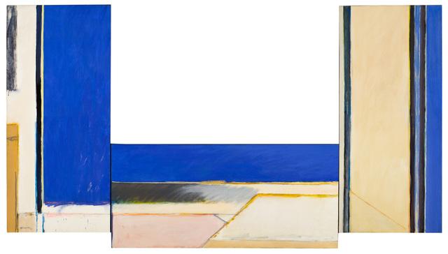 , 'Triple construcció blava,' 1977, Galería Joan Prats