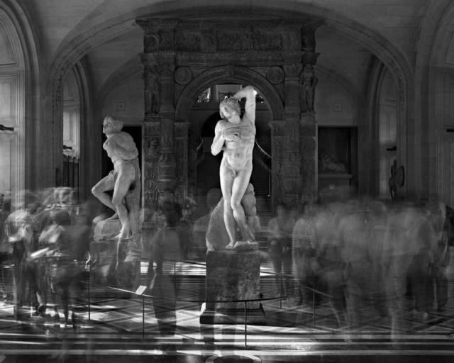 , 'Esclaves de Michel-Ange, Musée du Louvre,' 2003, Duran Mashaal