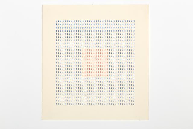 , 'Typecode 3,' 1978, Richard Saltoun