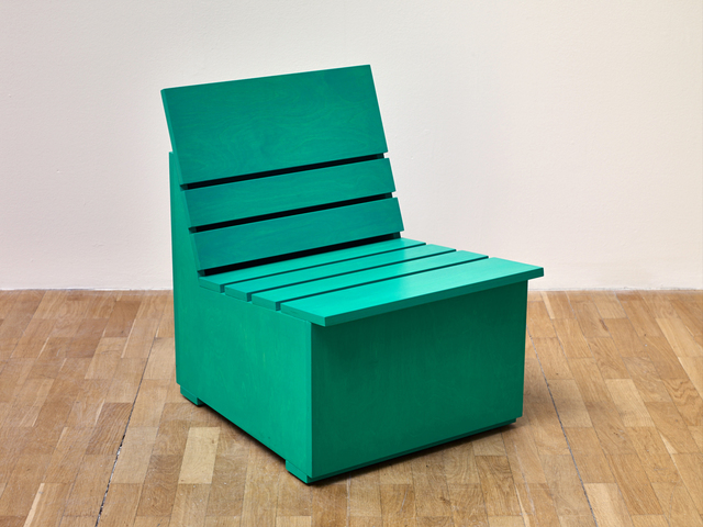 , 'Sunny Chair for Whitechapel (2016) (Green),' 2016, Whitechapel Gallery