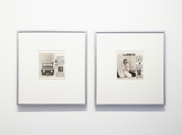 Gina Pane, 'Action Privee - cont. 1975', 1975, Richard Saltoun