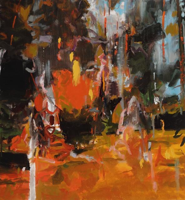 , 'Hunter,' 2018, DC Moore Gallery