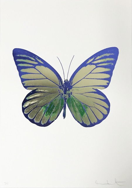 Damien Hirst, 'The Souls I, Coolgold-Emeraldgreen-Westminsterblue', 2010, Kunsthuis Amsterdam