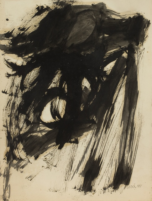 , 'Untitled (Work on paper),' 1961, Piano Nobile