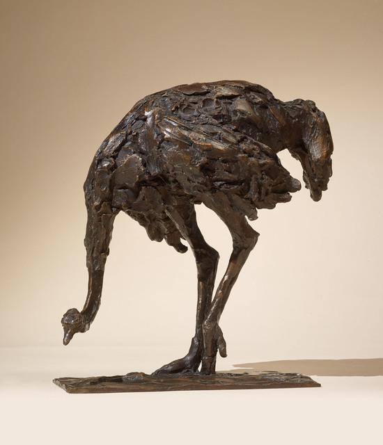 , 'Feeding Ostrich,' 2017, Sladmore Contemporary