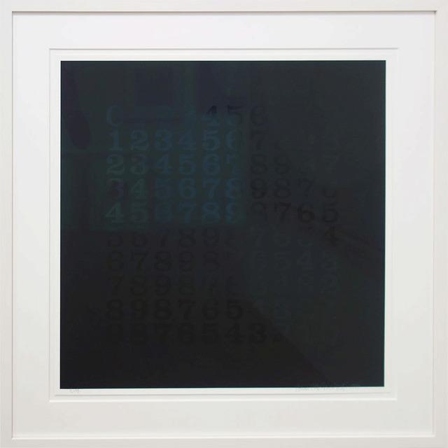 Hans-Albert Walter, 'Countdown in Schwarz', 1994, Galerie Kellermann
