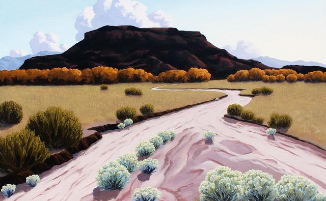 , 'Black Mesa Dawn,' 2018, Blue Rain Gallery