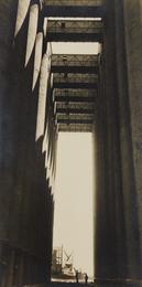 """Rosenbaum Grain Elevators, Chicago, IL. (Our """"temple view"""")"""