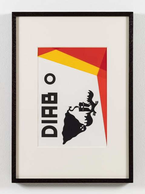 , 'O nome do medo (recorte): Diabo / The Name of Fear (cut-out): Devil,' 2017, Stephen Friedman Gallery